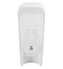 Zahab White Plastic Soap Dispenser