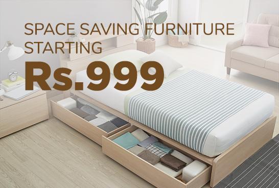 Space Saving Furniture Starting ₹999