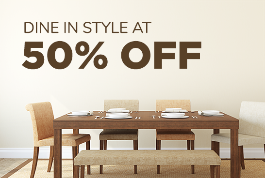 Dining In Style at 50% off